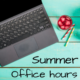 Summer Office Hours of the International Office