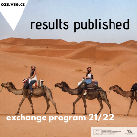 Results Announcement of Applications for Exchange Programme Abroad in AY 2021/2022