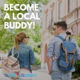 Become a local Buddy! Registrace probíhají do 3.5.2019