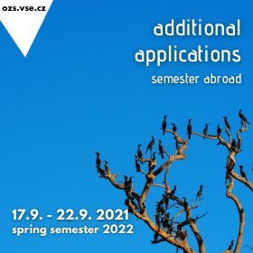 Zveřejnění výsledků mimořádného přihlašování na semestrální výměnné pobyty v zahraničí v LS 2022