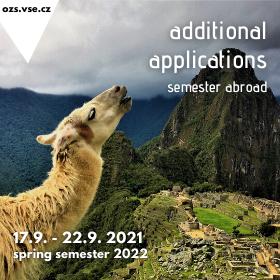 Mimořádné přihlašování na semestrální výměnné pobyty v zahraničí v LS 2022