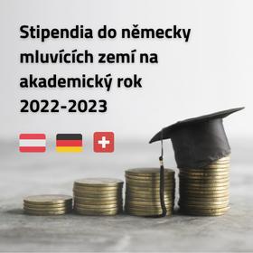 Nabídka stipendií do německy mluvících zemí na akademický rok 2022-2023