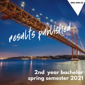 Zveřejnění výsledků přihlašování na bakalářské semestrální výměnné pobyty v zahraničí v LS 2021