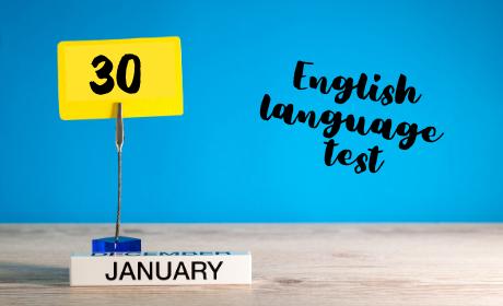 Test AJ pro studenty bez doložitelné znalosti na úrovni B2