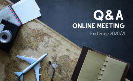 Online informační schůzka pro zájemce o studium v zahraničí