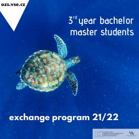 Přihlášky na semestrální výměnné pobyty v zahraničí v AR 2021/2022
